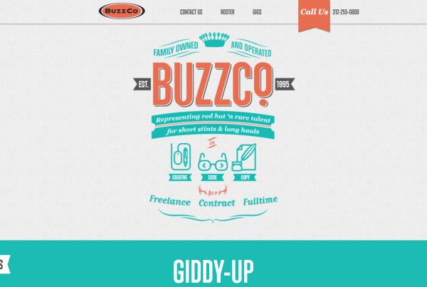 Buzzco wordpress website