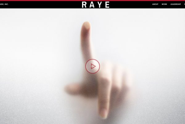 Raye Agency Website